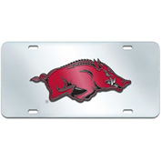 "University of Arkansas - License Plate Acrylic Inlaid 6""X12"" - 14980"