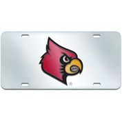 "Fan Mats Louisville License Plate Inlaid 6"" X 12"" - 14992"