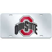"Fan Mats Ohio State License Plate Inlaid 6"" X 12"" - 15048"