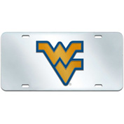 West Virginia University License Plate Acrylic Inlaid 6