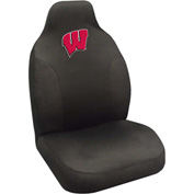 "Fan Mats Wisconsin Seat Cover 20"" X 48"" - 15089"