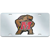 "Fan Mats Maryland License Plate Inlaid 6"" X 12"" - 15111"