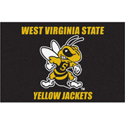 "Fan Mats West Virginia State Starter Rug 20"" X 30"" - 15188"