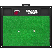"Fan Mats Miami Heat Golf Hitting Mat 20"" X 17"" - 15447"