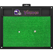 "Fan Mats Minnesota Vikings Golf Hitting Mat 20"" X 17"" - 15466"