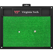 "Fan Mats Virginia Tech Golf Hitting Mat 20"" X 17"" - 15518"
