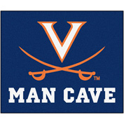 "Fan Mats University Of Virginia Man Cave Tailgater Rug 60"" X 72"" - 15537"