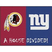 """Fan Mats NFL - Chicago Bears/Green Bay Packers House Divided Rugs 34"""" X 45"""" - 15561"""