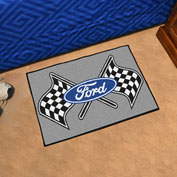 "Fan Mats Ford - Ford Flags Starter Mat, 19"" x 30"" - 15850"