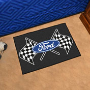 "Fan Mats Ford - Ford Flags Starter Mat, 19"" x 30"" - 15851"