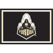 Fan Mats Purdue 'Train' Rug 5' X 8' - 16822