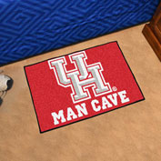 "Fan Mats University of Houston Man Cave Starter Mat, 19"" x 30"" - 17301"