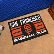 "Fan Mats MLB - San Francisco Giants Starter Mat, 19"" x 30"" - 18482"