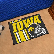 "Fan Mats University of Iowa Starter Mat, 19"" x 30"" - 18746"