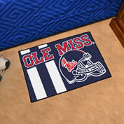 "Fan Mats University of Mississippi (Ole Miss) Starter Mat, 19"" x 30"" - 18771"