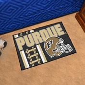 "Fan Mats Purdue University Starter Mat, 19"" x 30"" - 18775"