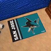 "Fan Mats NHL - San Jose Sharks Starter Mat, 19"" x 30"" - 19275"
