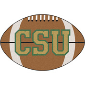 "Fan Mats Colorado State University Football Mat 27"" Dia. - 2246"