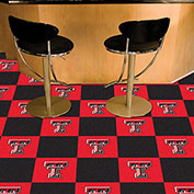 "Texas Tech Carpet Tiles 18"" x 18"" Tiles"
