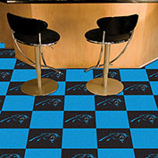"Carolina Panthers Carpet Tiles 18"" x 18"" Tiles"