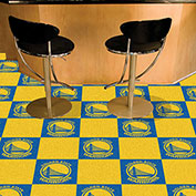 "Golden State Warriors Carpet Tiles 18"" x 18"" Tiles"