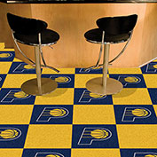 "Indiana Pacers Carpet Tiles 18"" x 18"" Tiles"