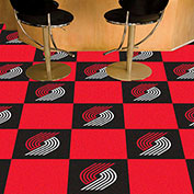 "Portland Trail Blazers Carpet Tiles 18"" x 18"" Tiles"