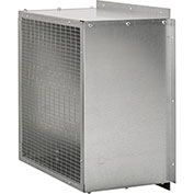 "Fantech Single Screen Intake Guard 1ACC36SG, 40-1/8"" x 40-1/8"", Galvanized Steel"