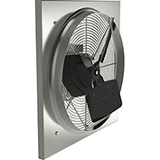 "Fantech 16"" Medium Duty Axial Wall Fan 2VLD1661, 1/20 HP, 115V, 1 PH, 1121 CFM, TEFC"