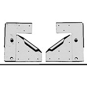 "Fantech Hinge Kit 5ACC00HK, For 10""-20"" Fans, Galvanized Steel"