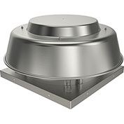 "Fantech 12"" Direct Drive Axial Roof Vent 5ADE12BA, 1/4 HP, 115V, 1 PH, 1423 CFM, ODP"