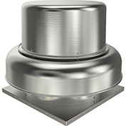 "Fantech 12"" Roof Ventilator Belt Drive Downblast 5BDD12CB-A, 1/3 HP, 115/230V, 1 PH, 1837 CFM, ODP"