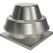 "Fantech 10"" Roof Ventilator Direct Drive Downblast 5DDD10AA, 1/6 HP, 115V, 1 PH, 994 CFM, ODP"