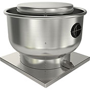 "Fantech 13"" Roof Ventilator Direct Drive Upblast 5DDU13DB, 1/2 HP, 115/230V, 1 PH, 2411 CFM, ODP"