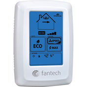 Fantech Wall Control ECO-Touch Programmable Electronic