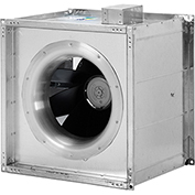 "Fantech 18"" Square Inline Mixed Flow Duct Fan FSD 18, 115V, 2463 CFM"