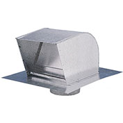 "Fantech Roof Cap RC12, 12"" Duct, Galvanized Steel"