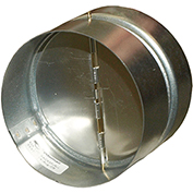 "Fantech Backdraft Damper RSK4, 4"" Duct"