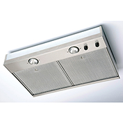 "Fantech 36"" Kitchen Hood Liner SHL36, Galvanized Steel"