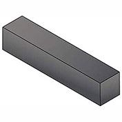 "Keystock - 1"" x 1"" x 3 Ft - Carbon Steel - Plain - Undersize - ASTM A29"