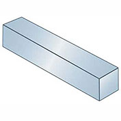 "Keystock - 3/16"" x 5/16"" x 1 Ft - Carbon Steel - Zinc Clear - Oversize - ANSI B17.1 - Pkg of 2"