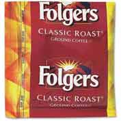 Folgers® Classic Roast Coffee, Regular, 0.9 oz., 36/Carton