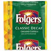 Folgers® Classic Roast Coffee, Decaffeinated, 1.5 oz., 42/Carton