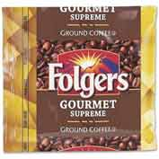 Folgers® Gourmet Supreme Ground Coffee, Regular, 1.8 oz., 42/Carton