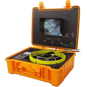 FORBEST FB-PIC4188H Luxury Color Sewer/Drain Camera, 130' Cable W/ Sonde Transmitter,Footage Counter