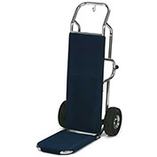 "Forbes Bellman's Hand Truck 1570-CK-PS-BL, Black Carpet, 10"" Pneumatic"