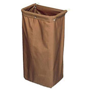 Forbes Heavy Duty Nylon Short Bag, Taupe - 35-T - Pkg Qty 6