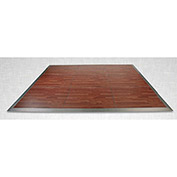 """Forbes 4307-CY-S Portable Laminate Dance Floor Kit, 16-7/8""""W x 16-7/8""""L"""