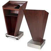 Forbes 5890-SRM, Mobile Floor Style Podium