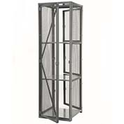 "Stor-More® Dispatcher Locker 4 Tier Front Door & Full Height Rear Panel 36""W x 30""D x 79-1/2""H"